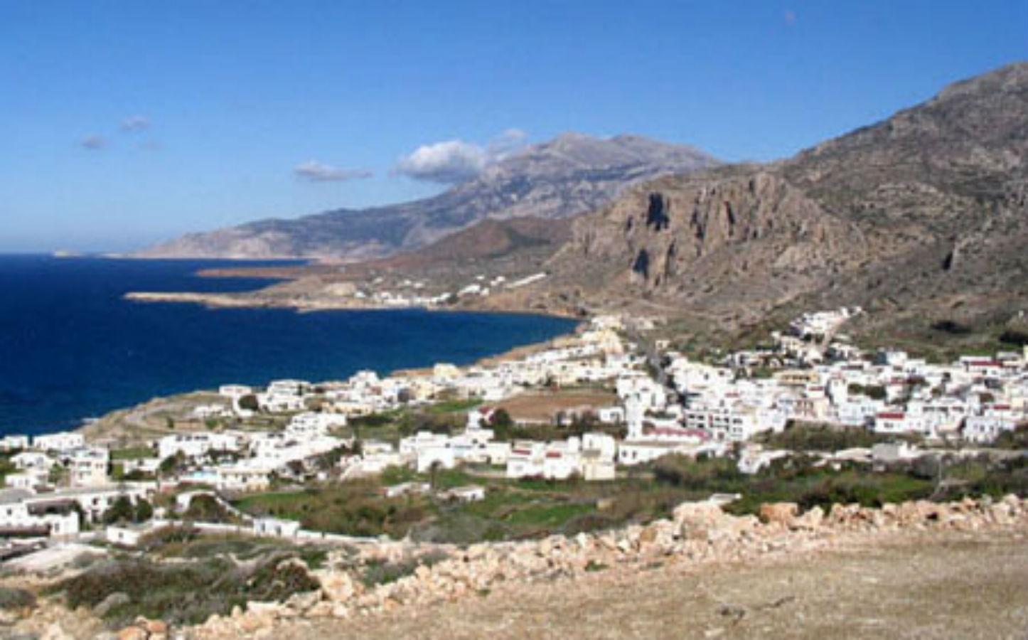 Het dorpje Arkassa en omgeving