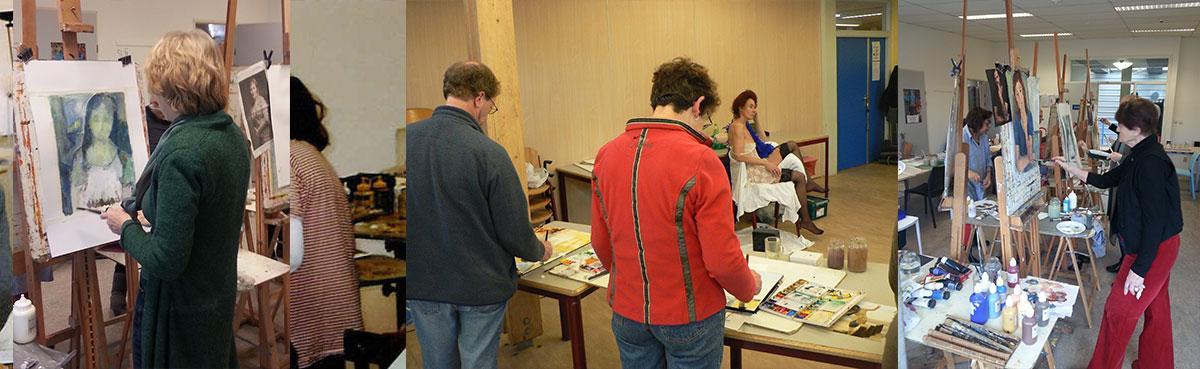 atelier tek schilderen