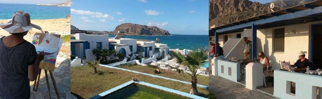 vakantie griekenland schilderen paulacademie 1